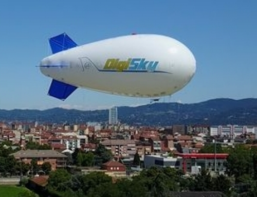 Monitoring crowds with the MONICA airship