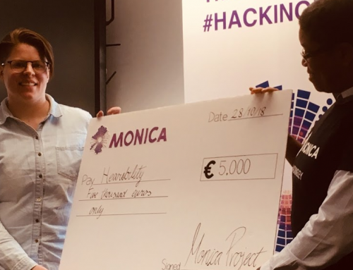 Hackathon winner impresses with solution for stadium visitors
