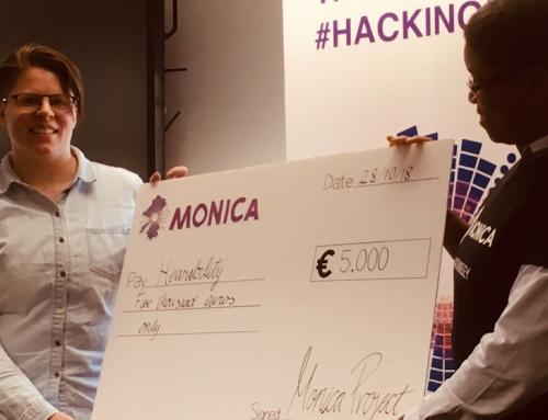 Hackathon winner impresses with solution for stadium visitors