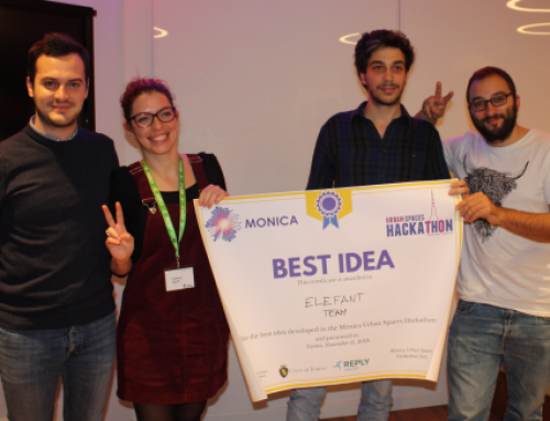 "The ""Shhh Project"" wins the third MONICA hackathon"